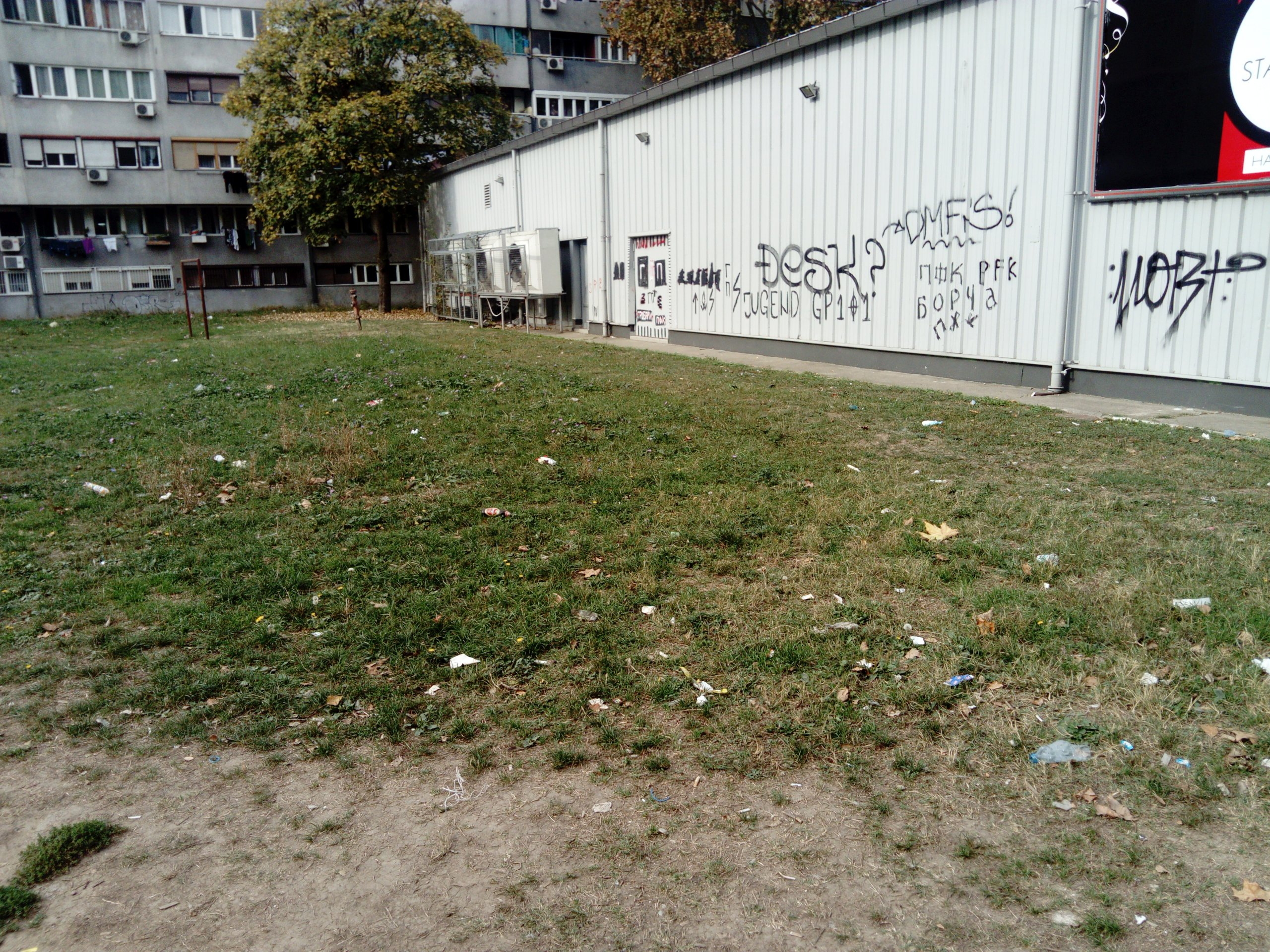 Maksi diskont ulica iza Bulevara Mihajla Pupina (Paviljoni)(1)