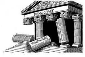 медији су стубови демократије