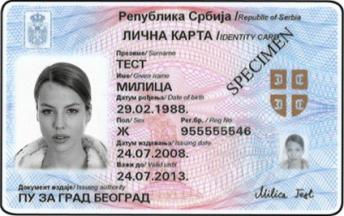 licna karta srbije Lična karta umesto zdravstvene knjižice   Dosta je bilo licna karta srbije
