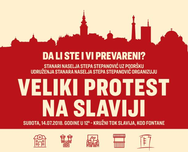 stepa protest