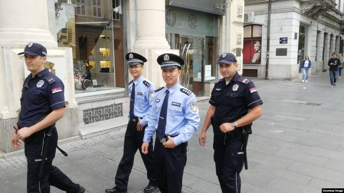 kineska policija