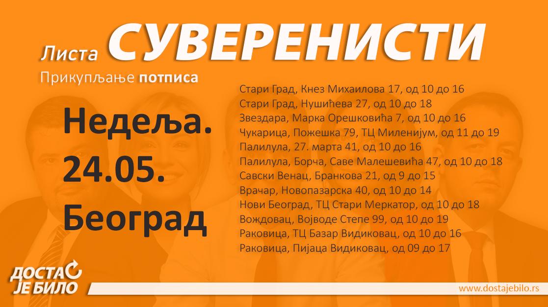 Potpisi Nedelja Beograd 2405