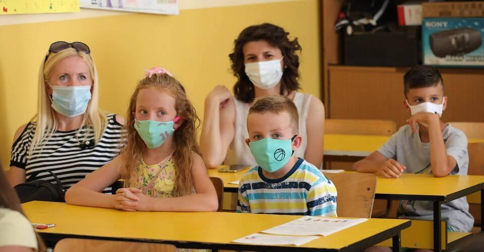 djaci ucenici maske