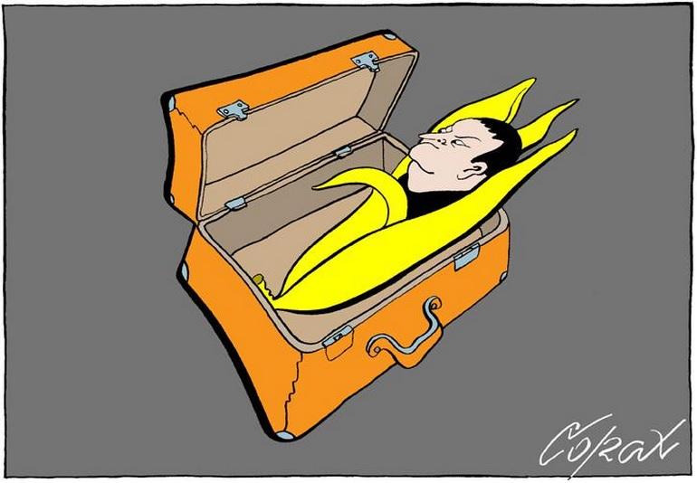 Corax-karikatura-Dacic-banana