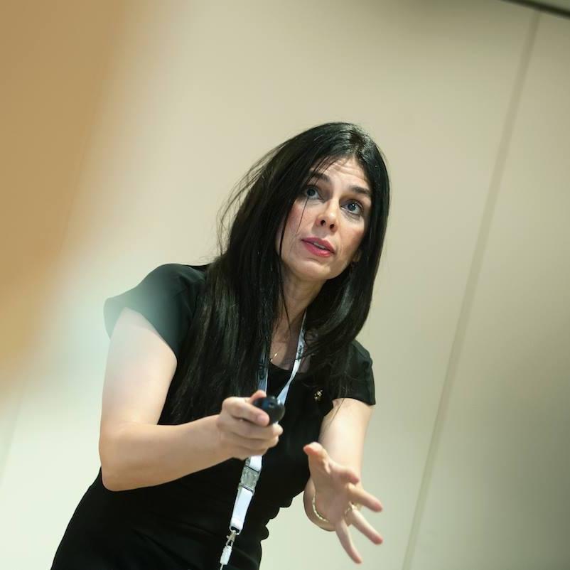 Jasmina sa Open space konferencije