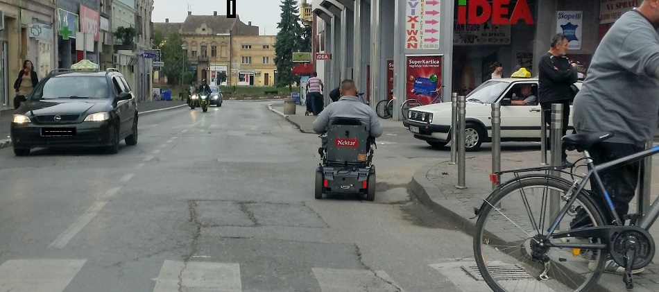 Sremska Mitrovica - saobraćaj u centru