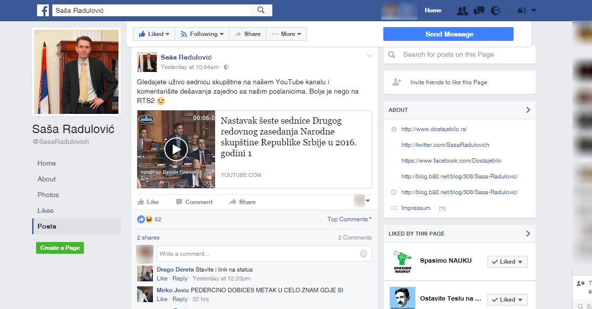 facebook-pretnje