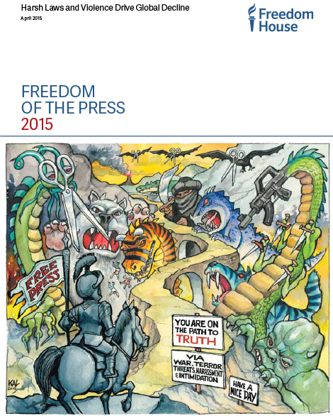 freedom of the press 2015