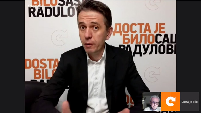 Online tribina Saša Radulović Goran Stupar