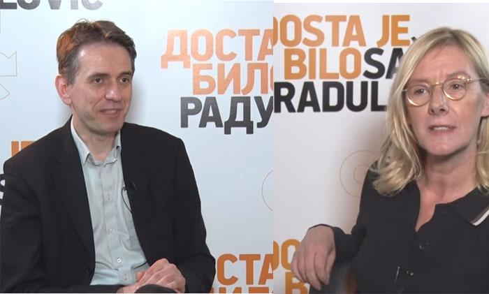 Saša Radulović kod Olje Bećković