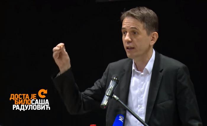 Govor Saše Radulovića