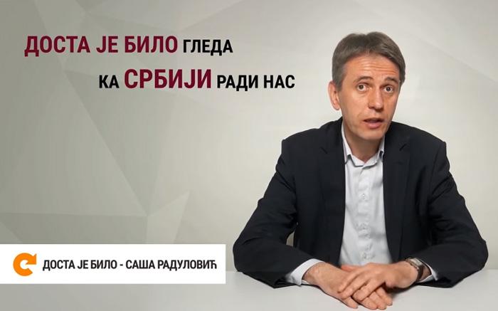 Saša Radulović nema istoka i zapada